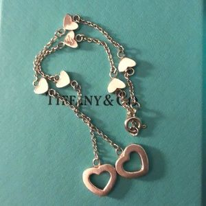 Rare Authentic Tiffany & Co. Heart Bracelet